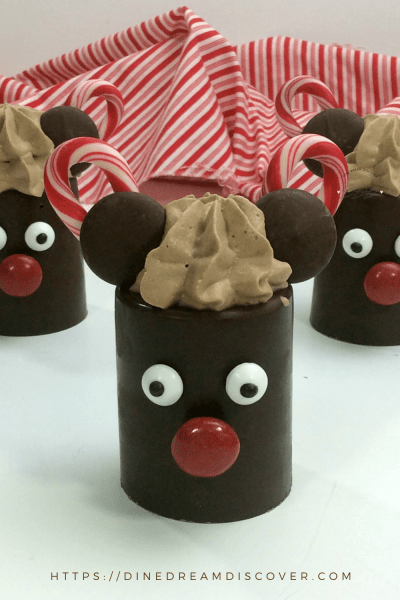 Mickey Mousse Chocolate Dessert Cups Recipe