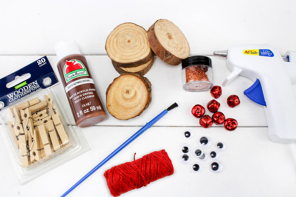 rudolph ornament supplies