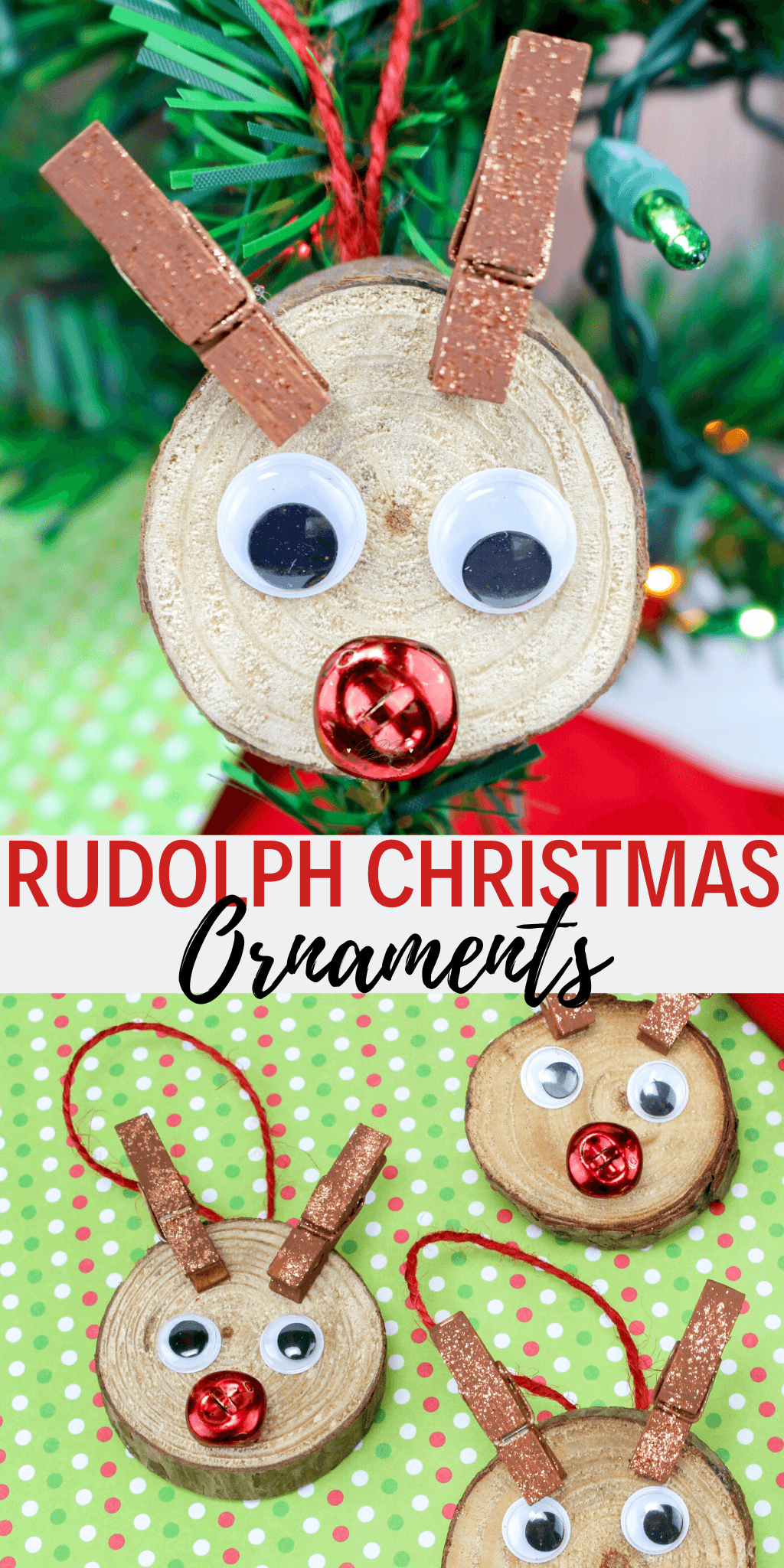 rudolph christmas ornaments