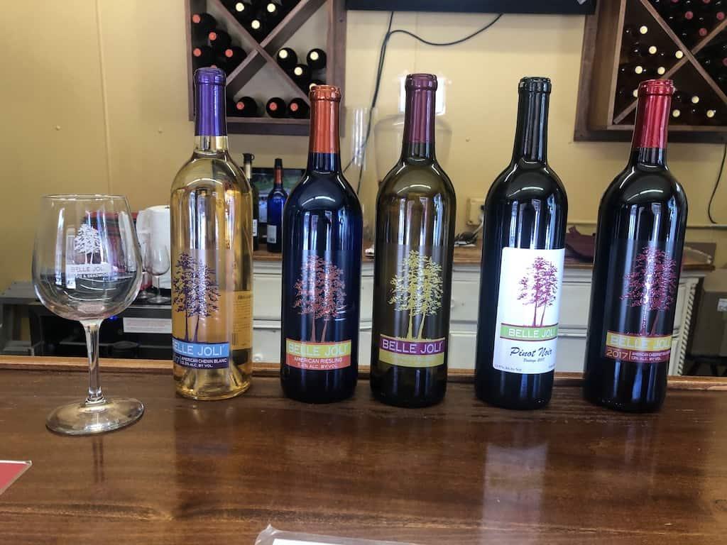belle joli winery visitors guide deadwood south dakota