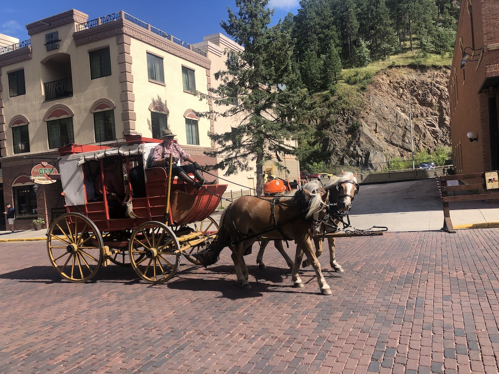 stagecoach rides deadwood sd
