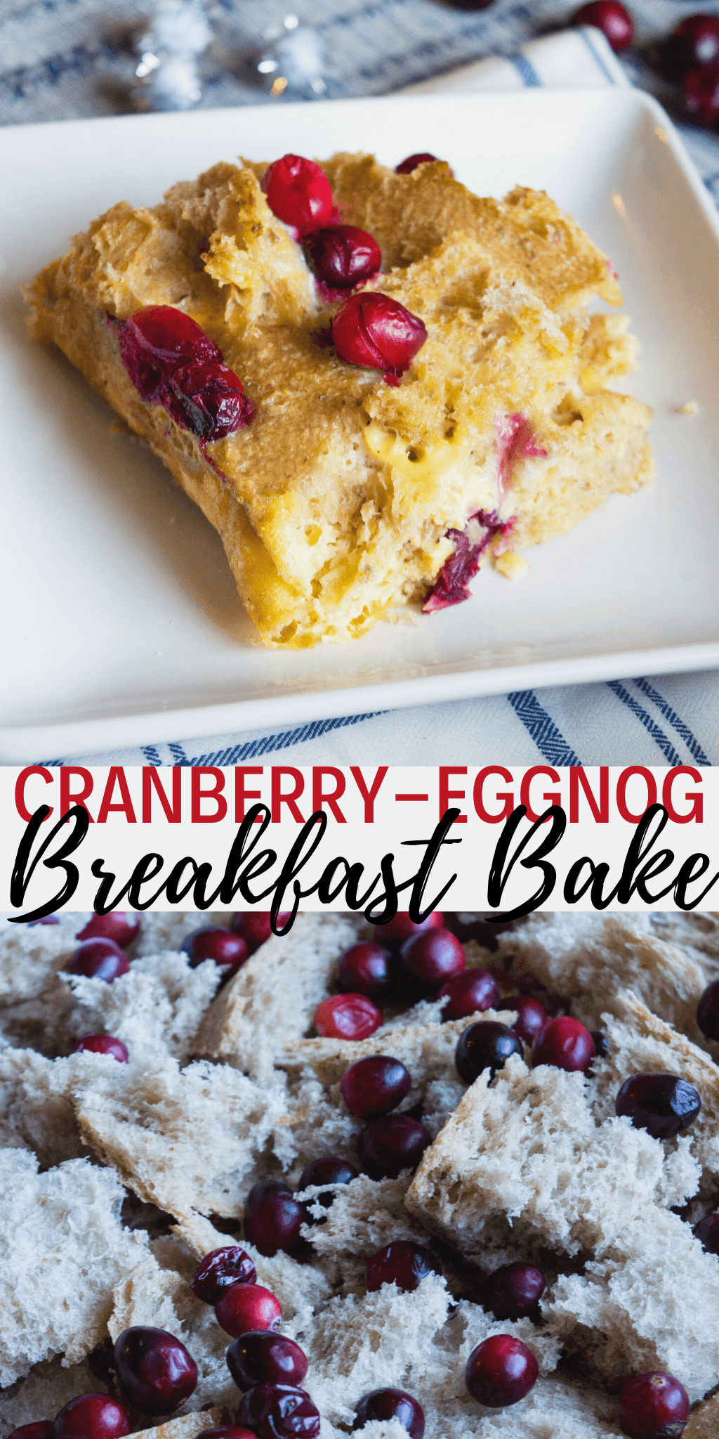 cranberry eggnog breakfast