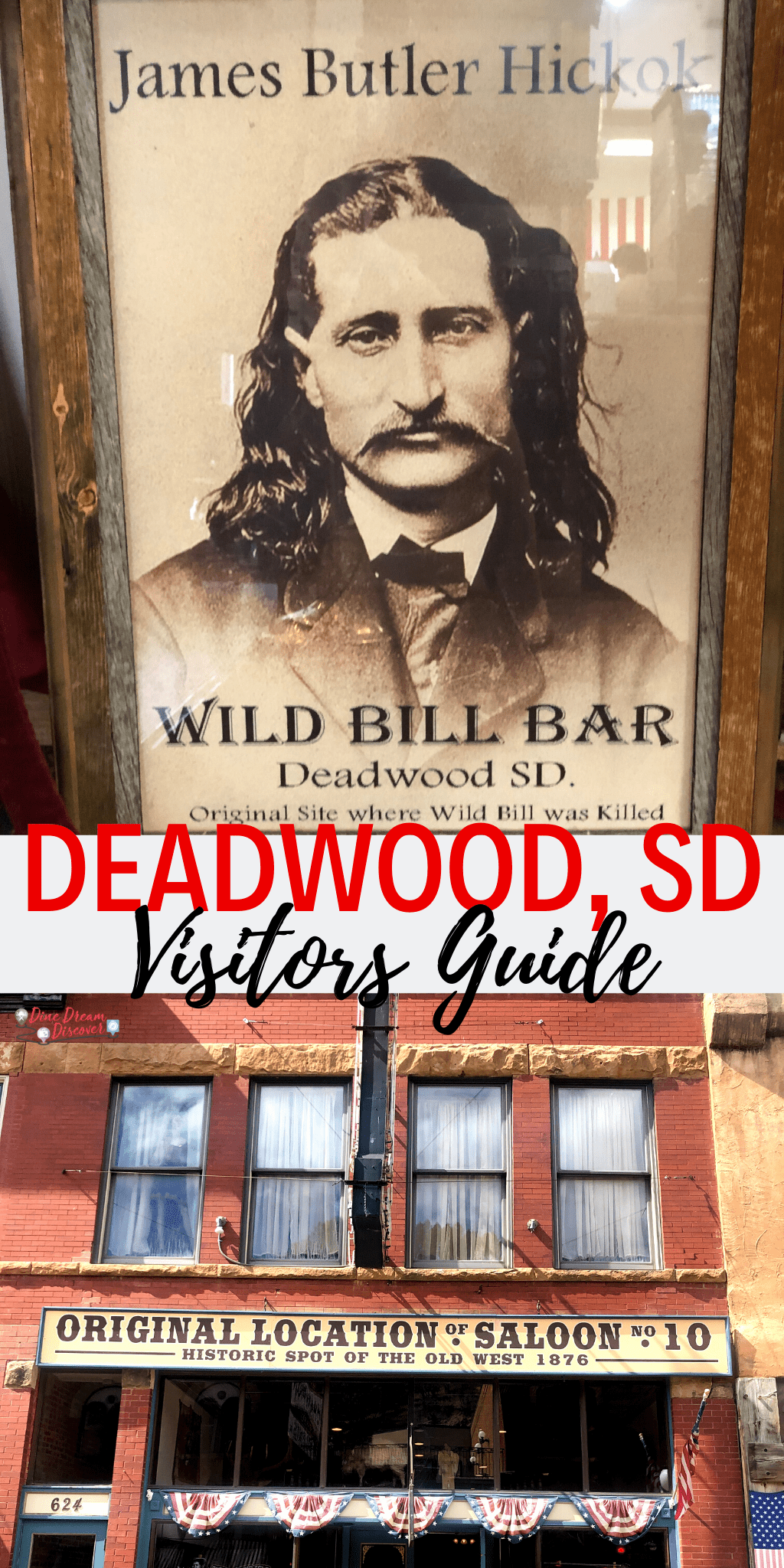 Deadwood, South Dakota, is one of the rare frontier towns that sprung up from nothing. It has survived through to the present day! Find out more about the area in this post.