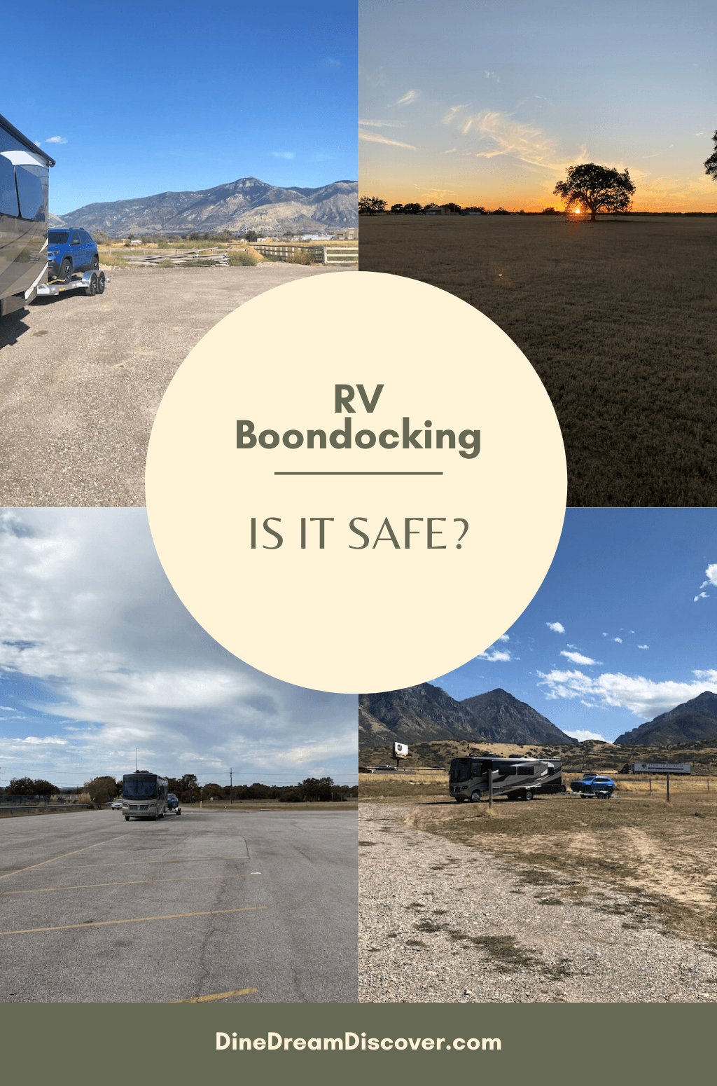 is boondocking in an rv safe