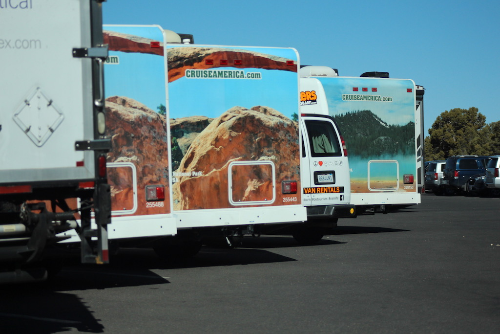rv parking at grand canyon