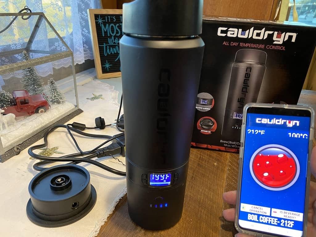 Cauldryn Battery Heated Mug