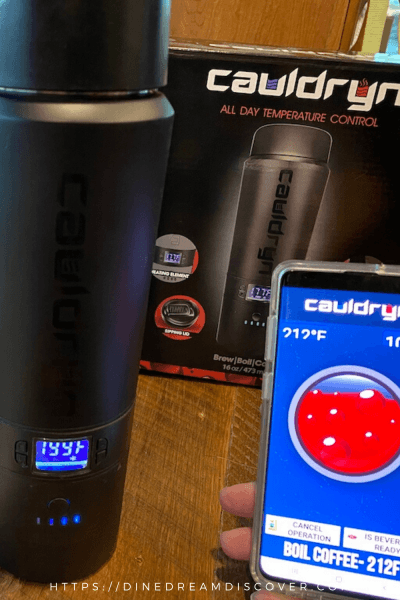 Cauldryn Battery Heated Mug