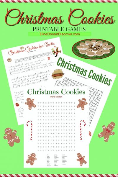 christmas printable games