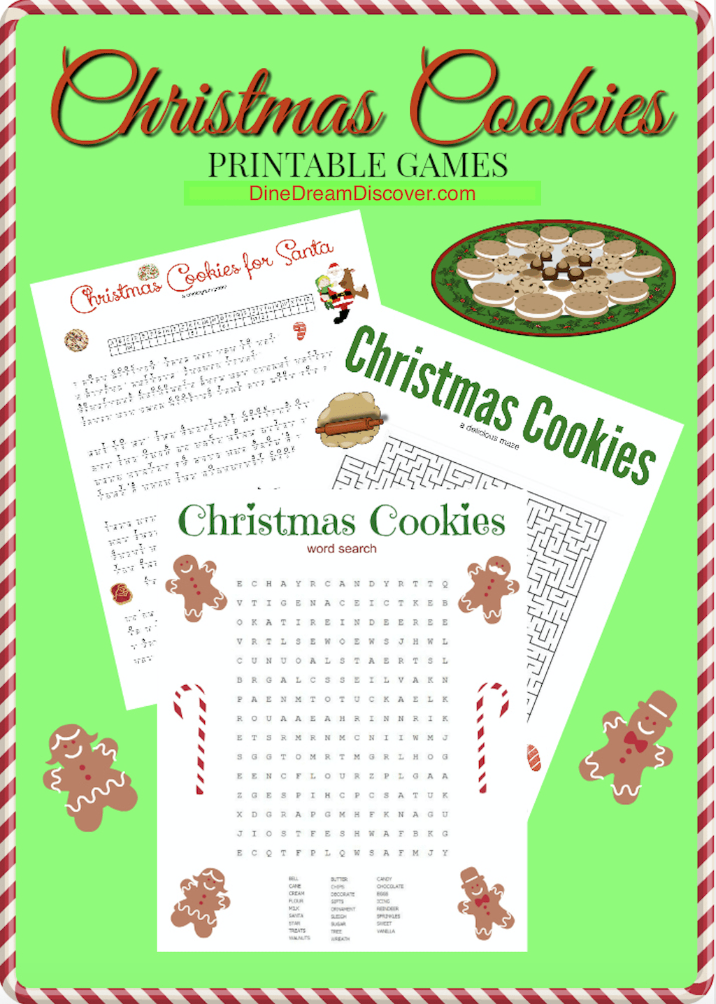 christmas printable games