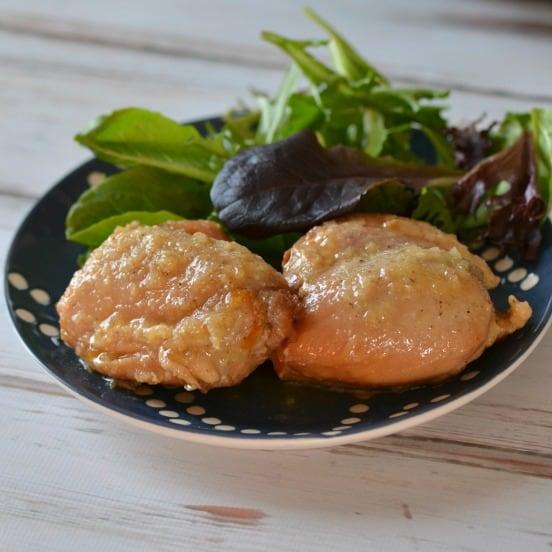 Instant Pot Garlic Orange Chicken