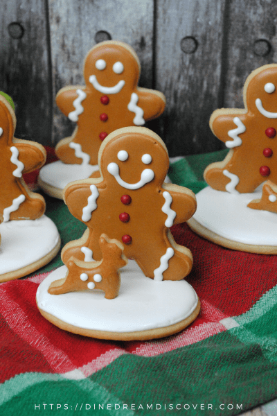 cute gingerbread man cookies