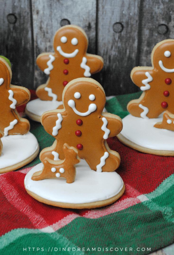 cute gingerbread man cookies