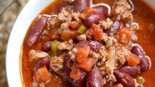 Best 5 Ingredient Instant Pot Chili!