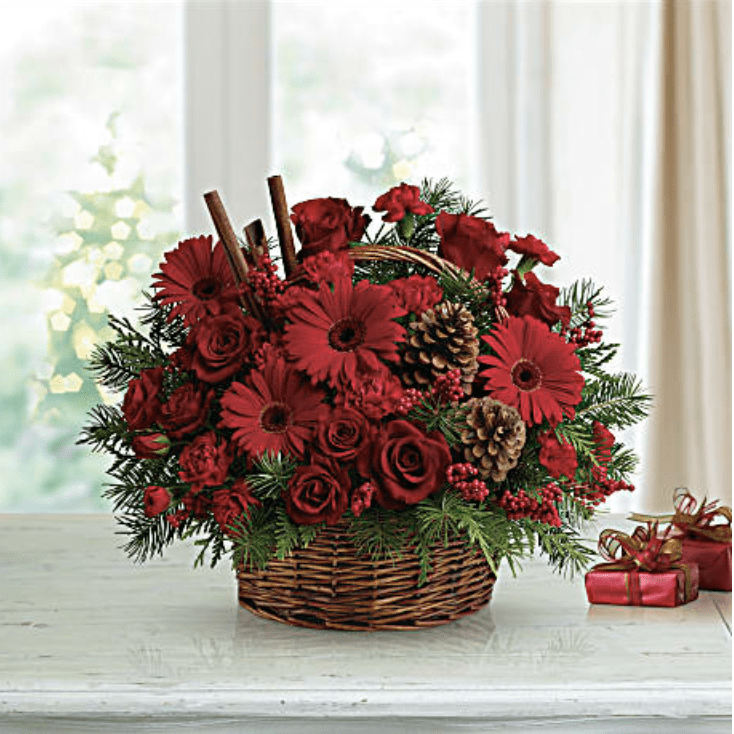 teleflora berries and spice basket