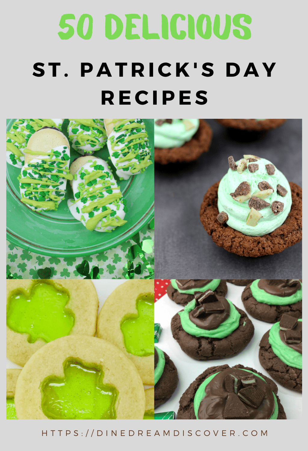 50 St Patricks Day recipes