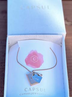 Envelope Locket Necklace