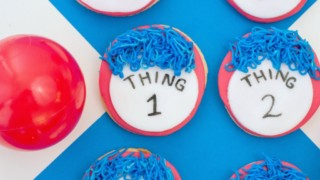 Thing 1 and Thing 2 Cookie Recipe