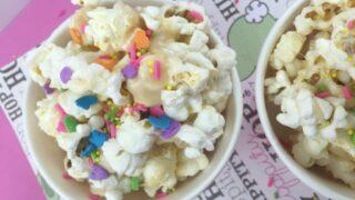 Springtime Marshmallow Popcorn