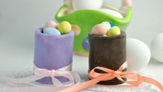 Easter Chocolate Shot Glasses
