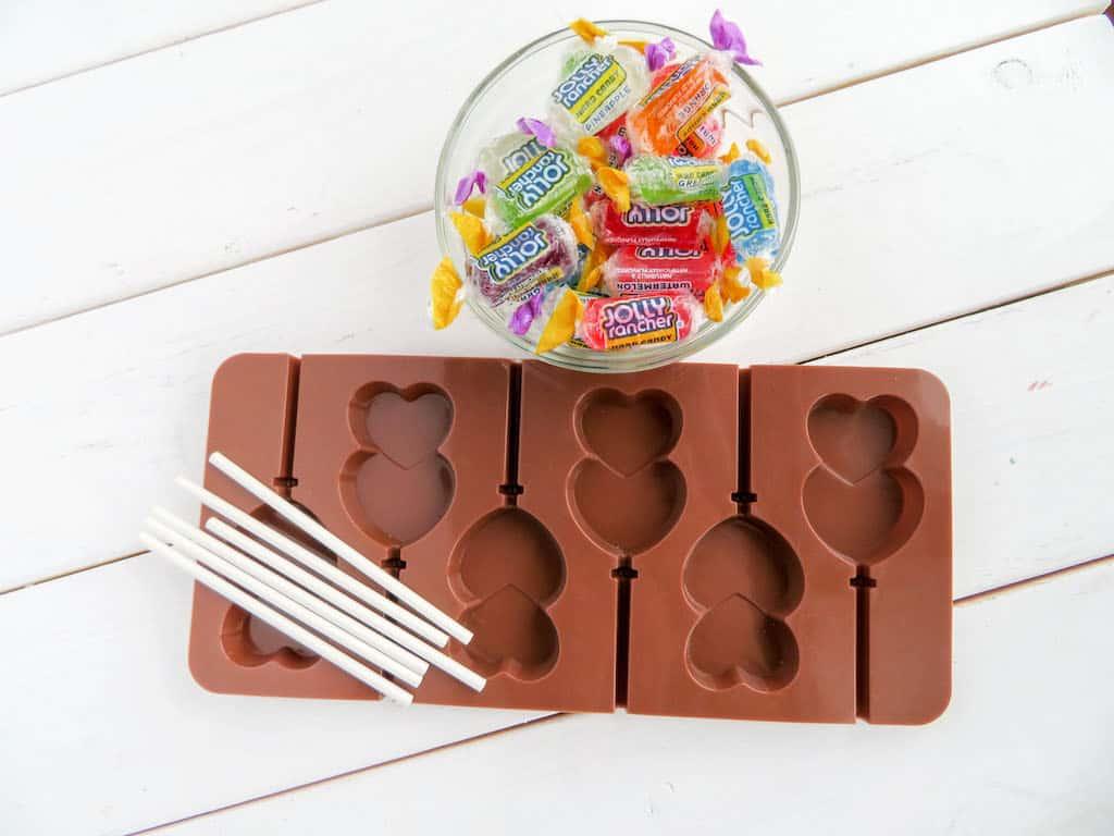 heart shaped lollipops ingredients