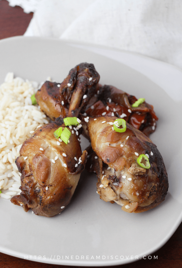 instant pot teriyaki chicken legs