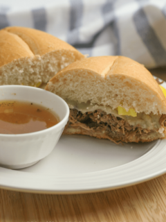 instant pot french dip sandwich