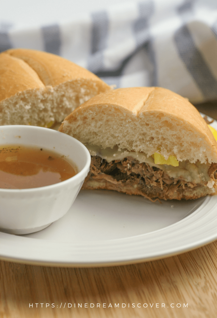 Instant Pot Italian Beef Sandwiches
