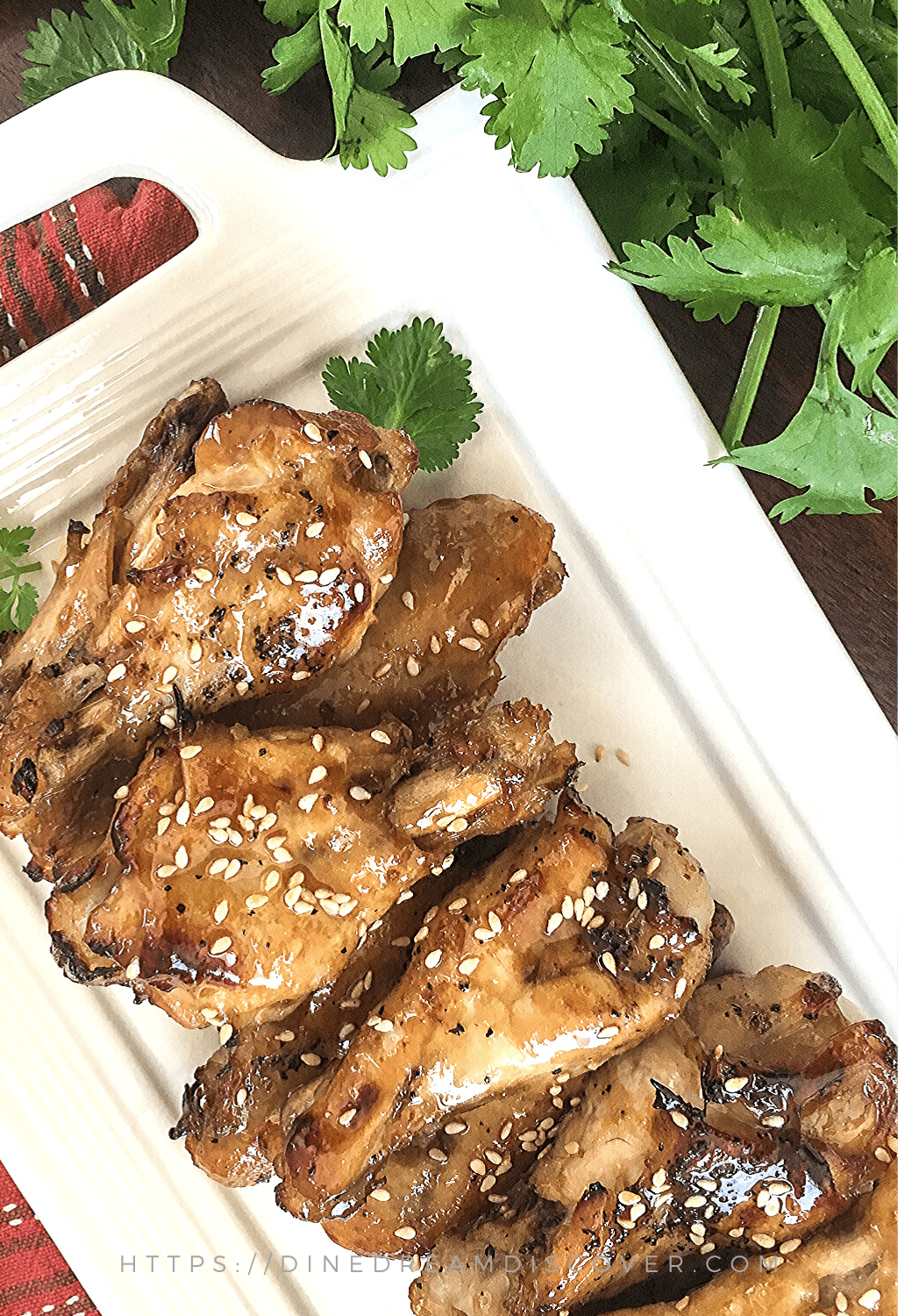 instant pot sesame chicken wings