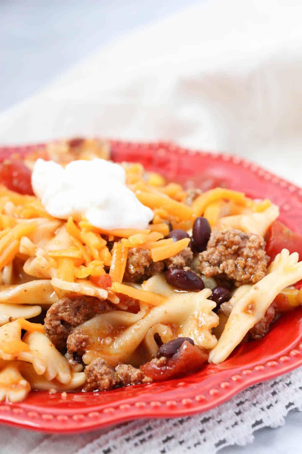 instant pot taco pasta pinterest