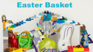 DIY LEGO Easter Basket Idea