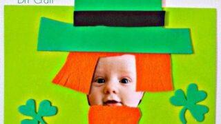 Leprechaun Photo Magnet St. Patrick's Day Craft
