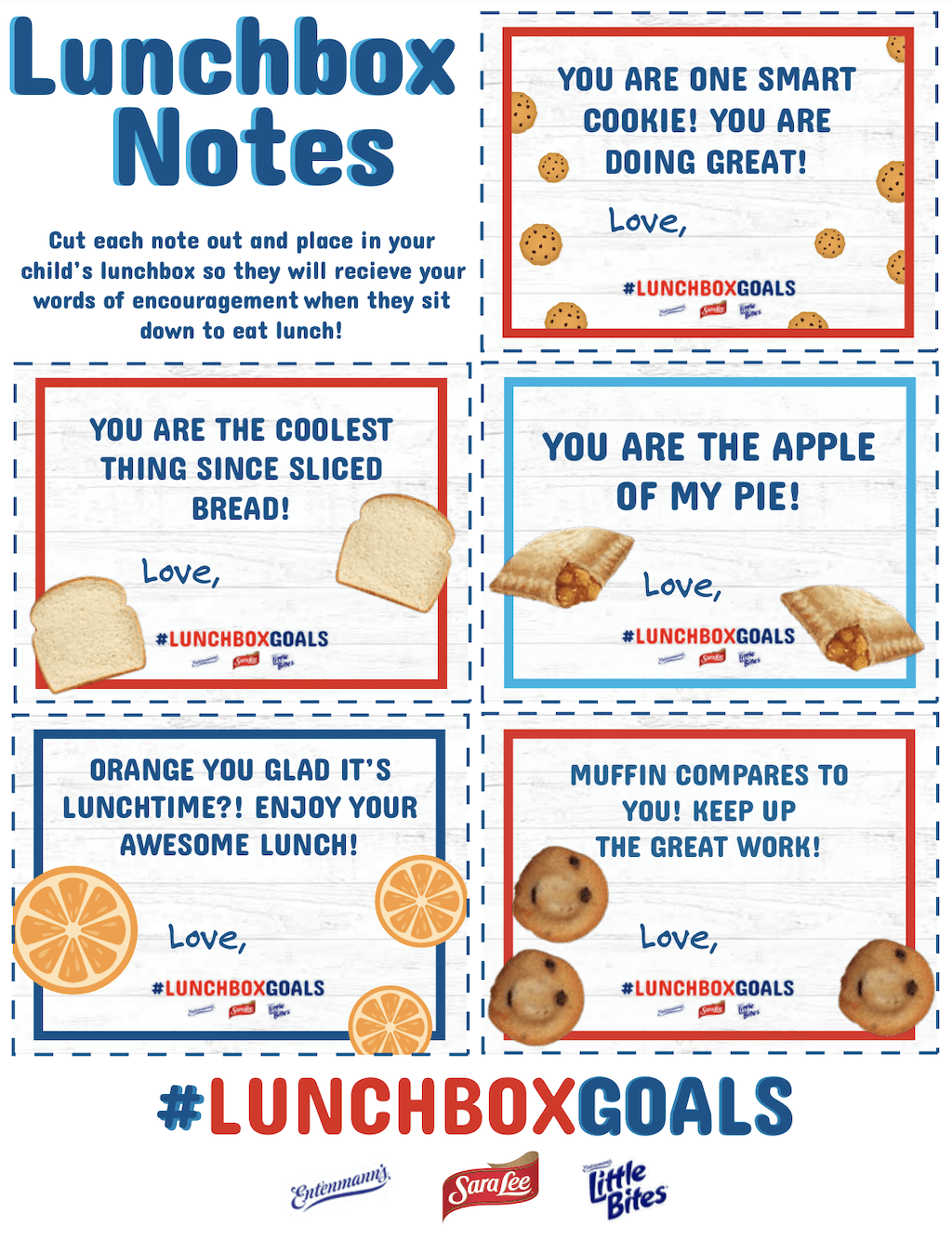 lunchbox printables