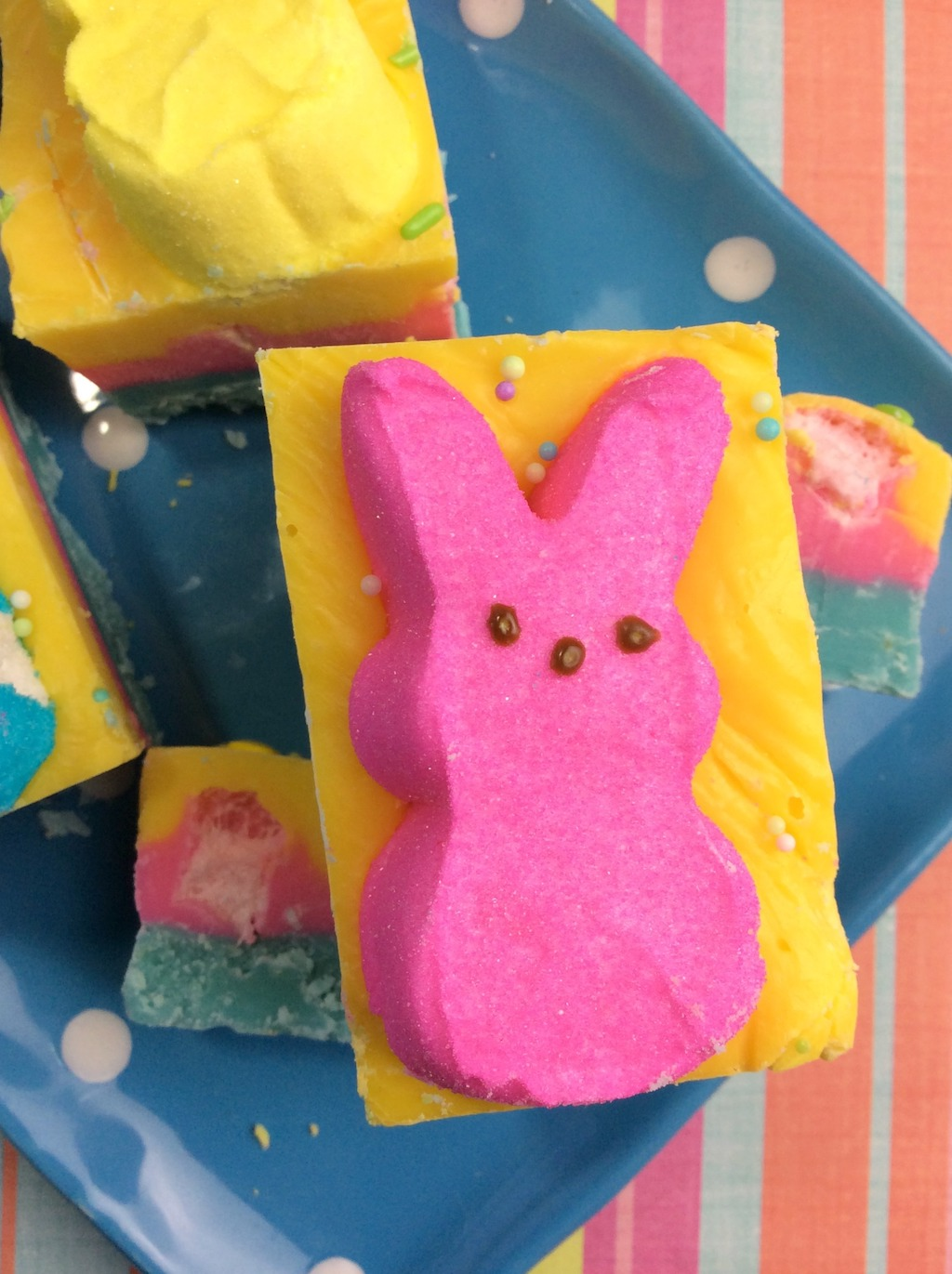 Peeps Fudge and Entertaining Tips 3