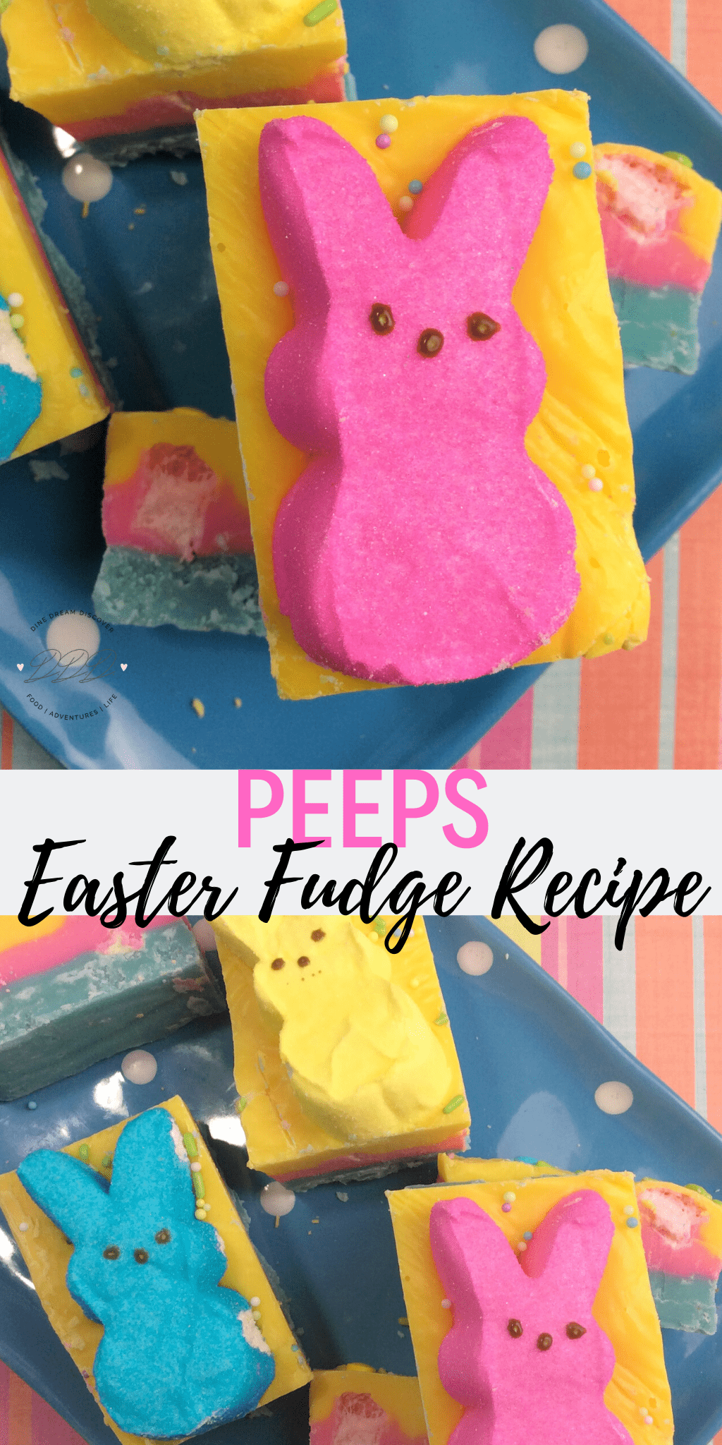 Peeps Easter Fudge and Entertaining Tips 3