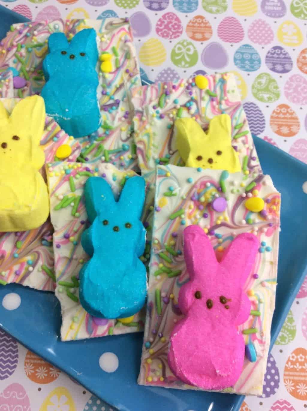 Easter peeps bark
