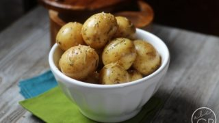 Pressure Cooker Recipe: Easy Roasted Rosemary Potatoes