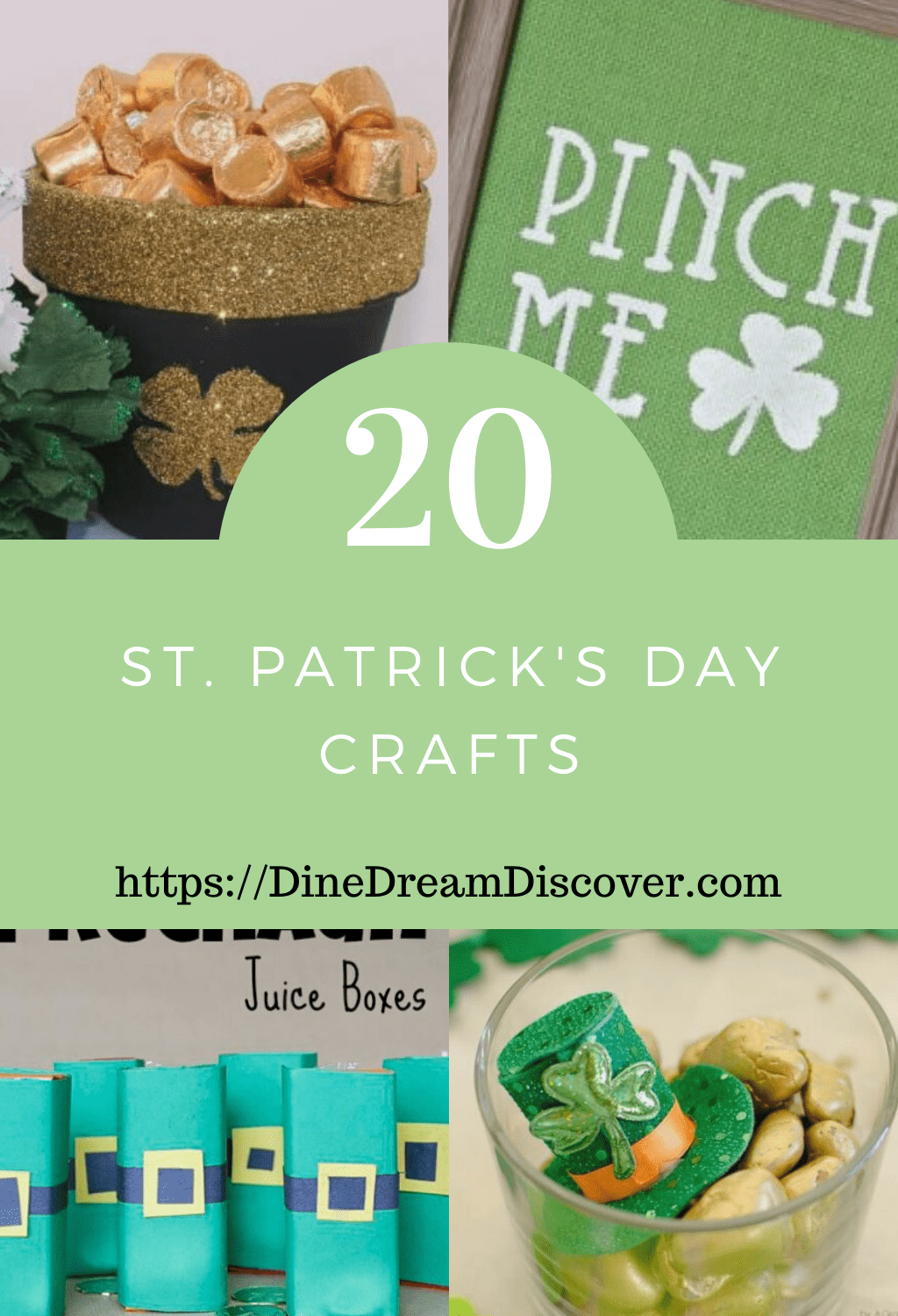 St Patricks Day Crafts and Free Activity Sheets
