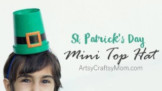 DIY St Patrick's Day Leprechaun Hats