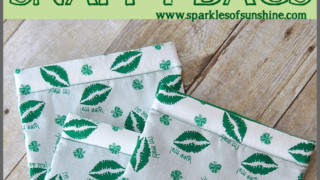 St. Patrick's Day Snappy Bags - Sparkles of Sunshine