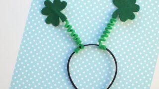 Shamrock Craft: Make a Festive Headband