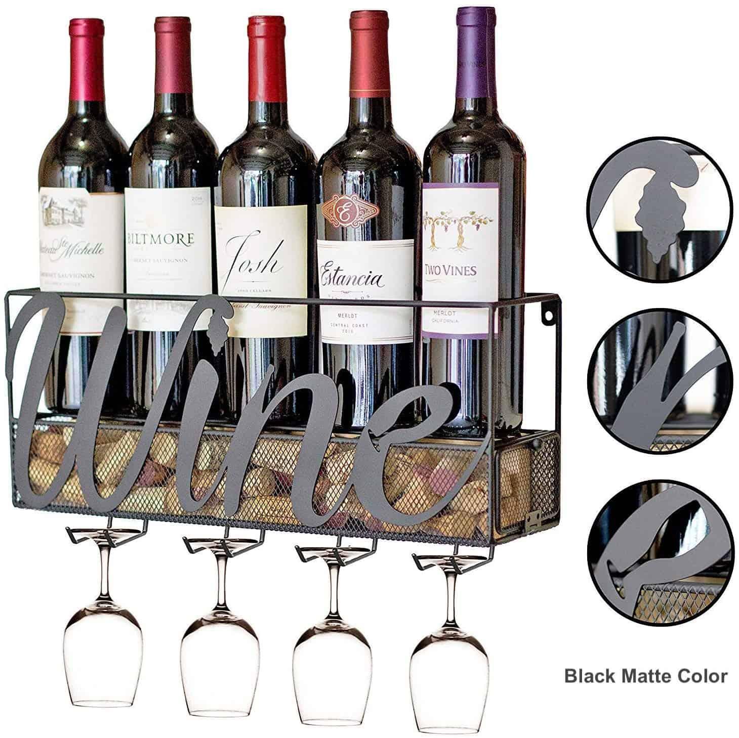 Wine Rack Wall Mounted