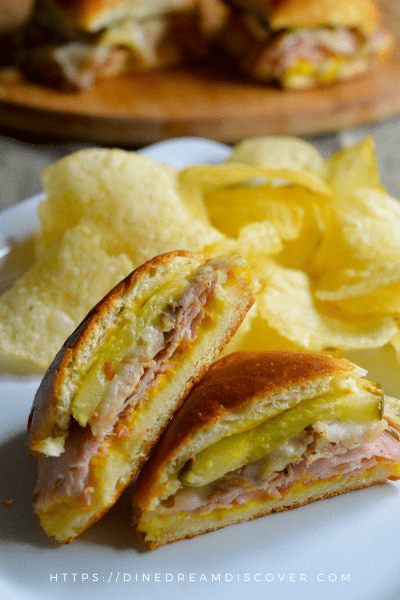 cuban finger food sandwiches