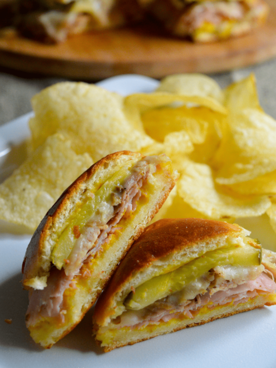 cuban finger food sandwiches