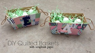 Quilted Easter Baskets