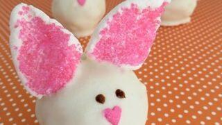 DIY Easter Bunny Cake Truffles Recipe