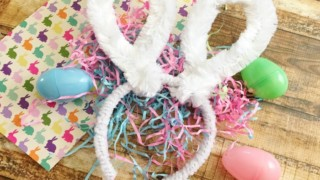 DIY Easter Bunny Ears Headband • Simple At Home