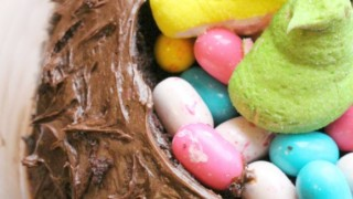 Triple Chocolate Easter Cake + Giveaway