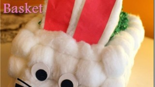 How to Make a Milk Carton Easter Bunny Basket with #LifeforLess