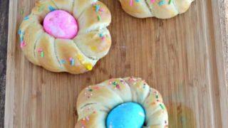 Individual Braided Easter Bread #BreadBakers