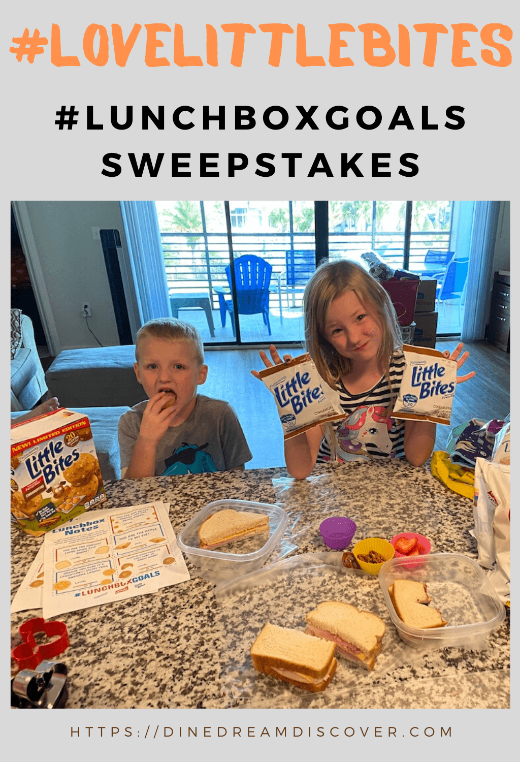 #lunchboxgoals sweepstakes